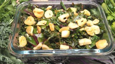 Tangy Leafy Greens And Garlic